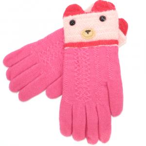 Перчатки с начесом утепленные