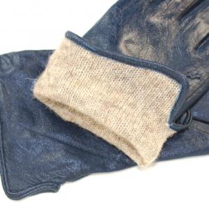 Перчатки натуральная кожа на шерстяной подкладке 0