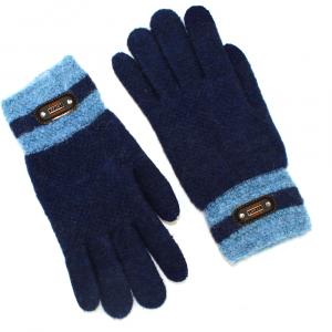 Перчатки для подростка  touch-screen c начесом 3