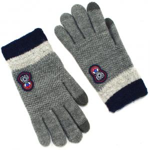 Перчатки для подростка touch-screen c начесом 2