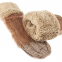 Варежки шерсть с натуральным мехом Кролика 0