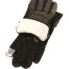 Стеганные перчатки сенсорные 0