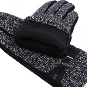 Женские перчатки шерсть с начесом утепленные 0