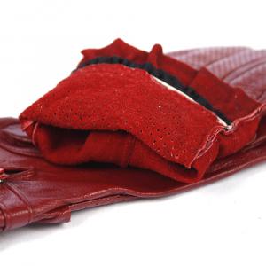 Перчатки натуральная кожа с перфорацией 0