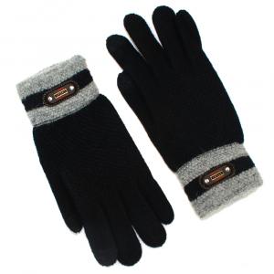 Перчатки для подростка  touch-screen c начесом 4