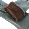 Перчатки натуральная кожа на евромеху 0