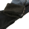 Удлиненные кожаные перчатки утепленные 0