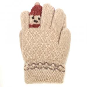 Перчатки c начесом 3