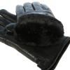 Кожаные перчатки утепленные 0