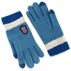 Перчатки для подростка touch-screen c начесом 0