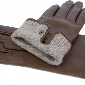 Натуральная кожа перчатки на шерстяной подкладке 0