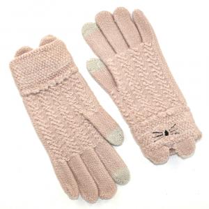 Подростковые перчатки touch-screen 4