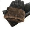 Перчатки женские (натуральная замша+ кожа) на евромеху 0