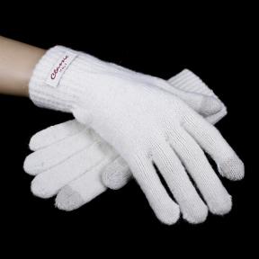 Перчатки женские  touch-screen шерсть