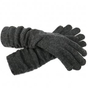 Удлиненные шерстяные перчатки