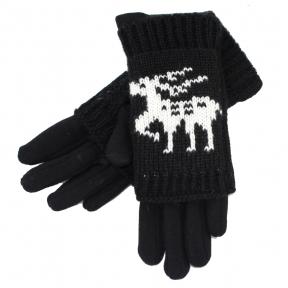 Подростковые перчатки с митенками (9-12 лет)