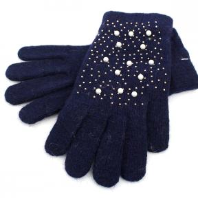 Теплые перчатки с кроличьим пухом