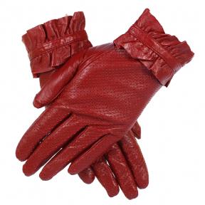 Перчатки натуральная кожа с перфорацией