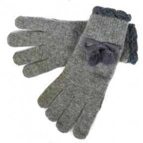 Женские перчатки шерсть