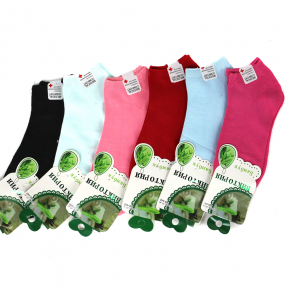 Женские короткие носки хлопок с медицинской резинкой