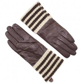 Перчатки натуральная кожа с трикотажным манжетом