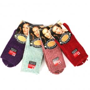 Шерстяные носки с компрессионной резинкой