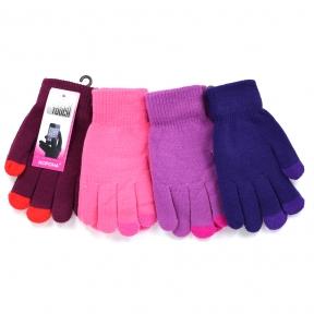 Сенсорные перчатки (яркие цвета)
