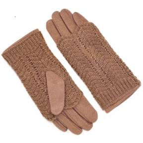 Перчатки утепленные с митенками