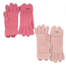 Перчатки для подростка touch-screen c начесом