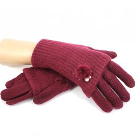 Перчатки длинные с эффектом митенок