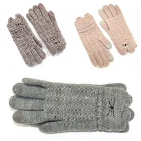 Подростковые перчатки touch-screen