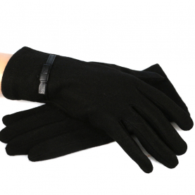 Трикотажные утепленные  перчатки