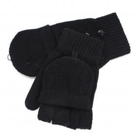 Мужские варежки-перчатки шерсть