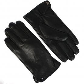 Перчатки мужские кожа PU на евромеху