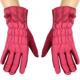 Стеганные перчатки сенсорные